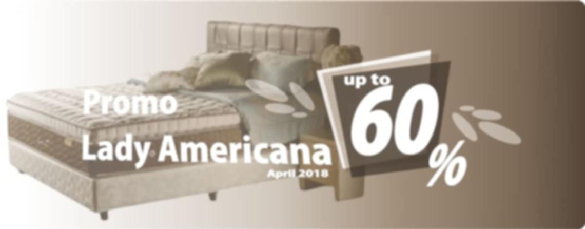 Promo Lady Americana Bulan April 2018