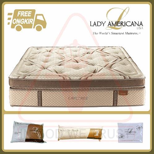 Lady Americana - Carefree - Kasur Saja - 200 x 200 / 200x200