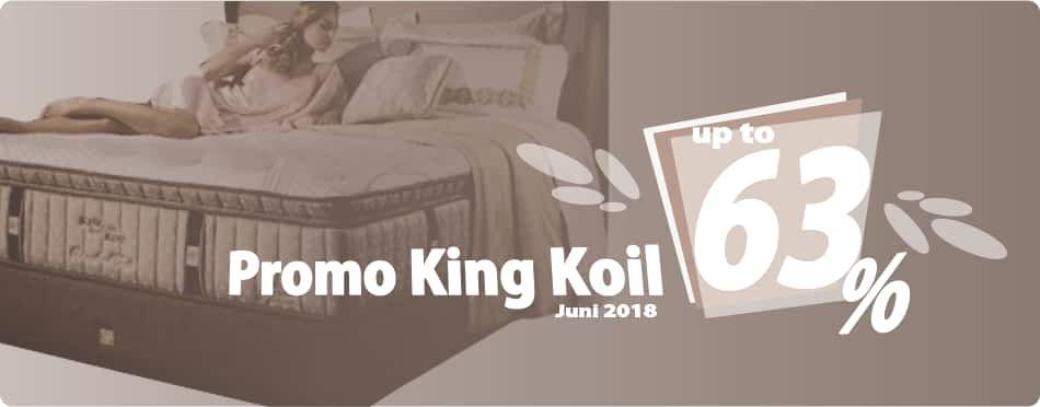 Promo King Koil Juni 2018