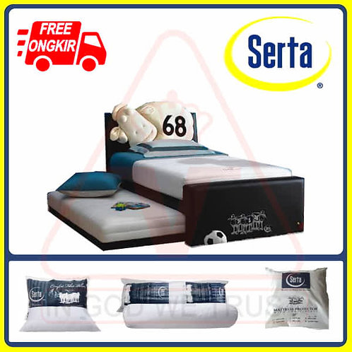 Serta - JR Double Bed - Set - 120 x 200 / 120x200