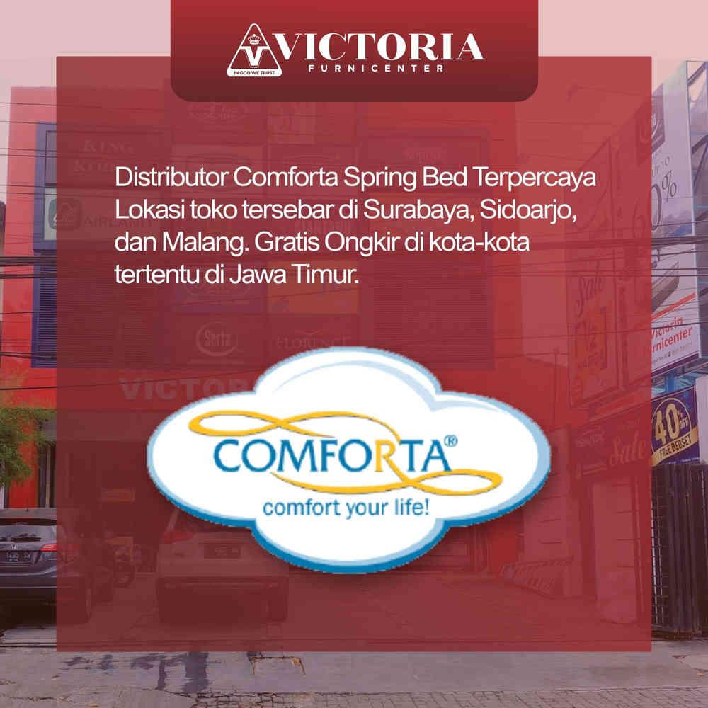 Jual Comforta Spring Bed Beli Harga Murah Distributor Pabrik Surabaya Sidoarjo Malang