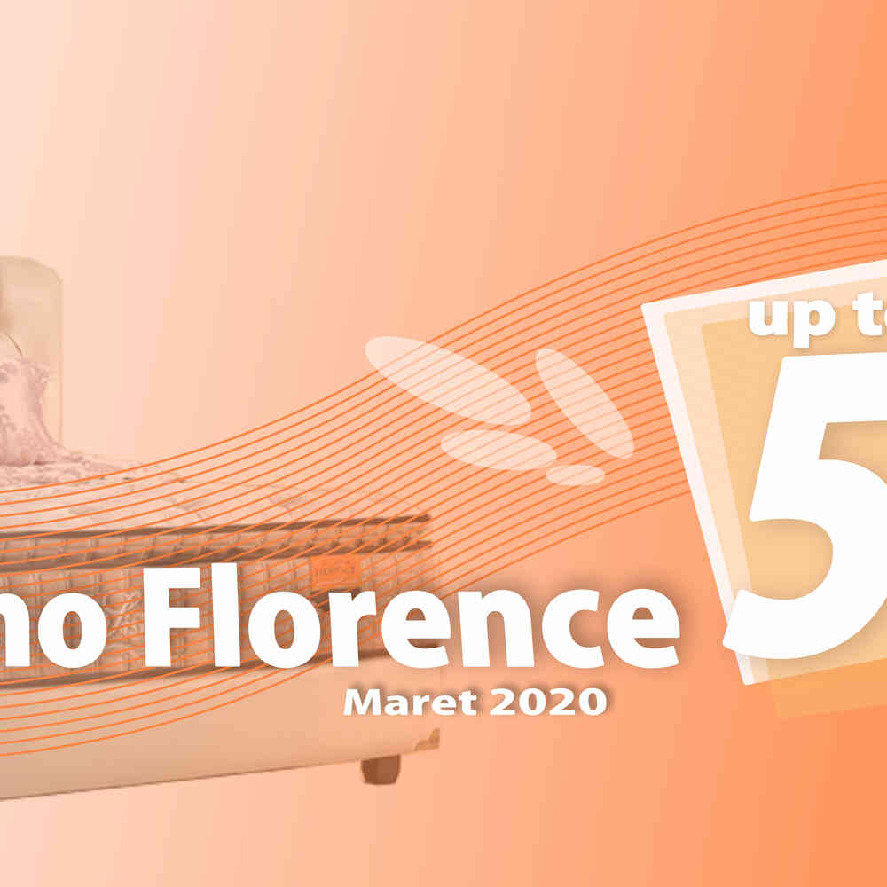 Harga Florence Spring Bed Promo Diskon Maret 2020 | Surabaya Sidoarjo Malang | Victoria Furnicenter