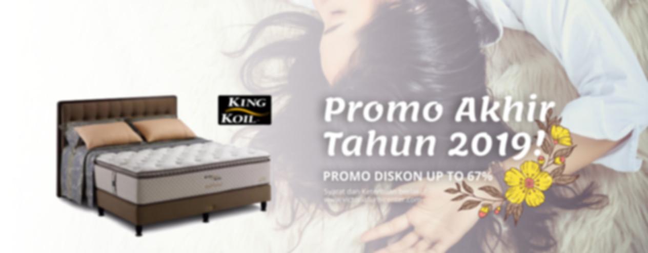 Promo King Koil Bulan Desember 2019