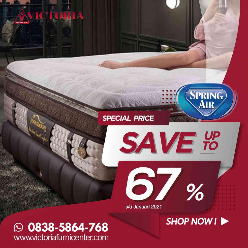 Up to 67% OFF | Harga Promo SPRING AIR Spring Bed | Januari 2021 | Kasur Surabaya Sidoarjo Malang