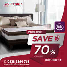 Up to 70% OFF | Harga Promo Serta Spring Bed | Oktober 2020