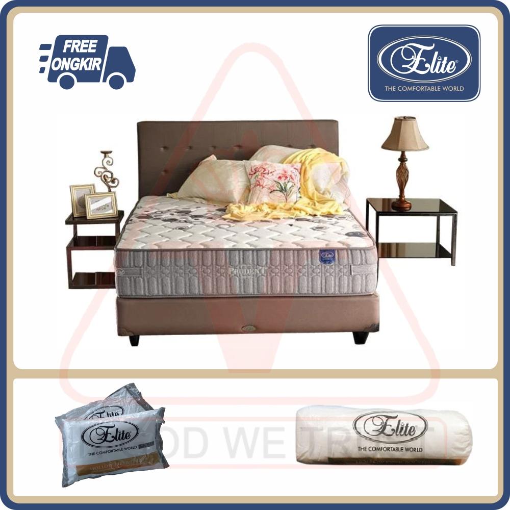 Elite Prudent adalah springbed yang dilengkapi dengan fitur high density dura foam untuk menjaga istirahat anda nyaman sepanjang malam tanpa gangguan.