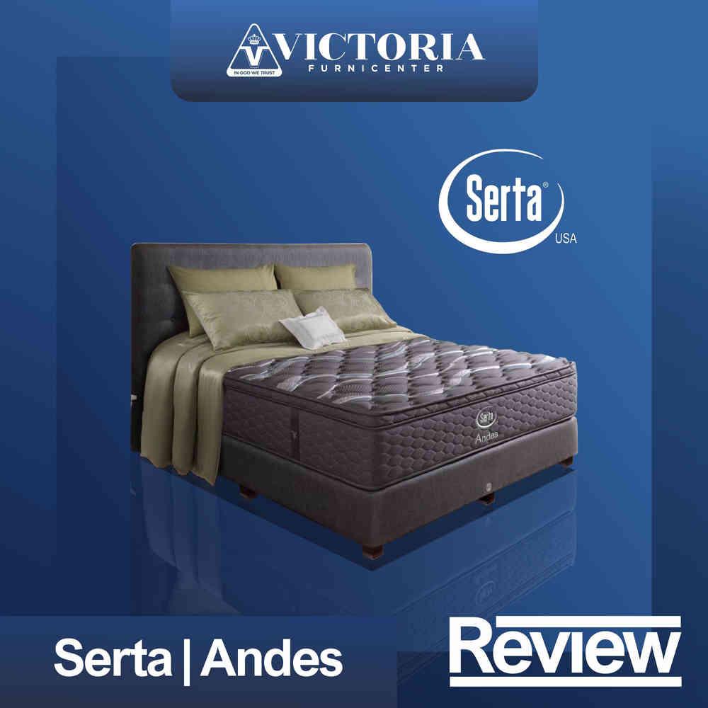 Review Kasur dan Harga SERTA ANDES Spring Bed Springbed Matras Surabaya Sidoarjo Malang