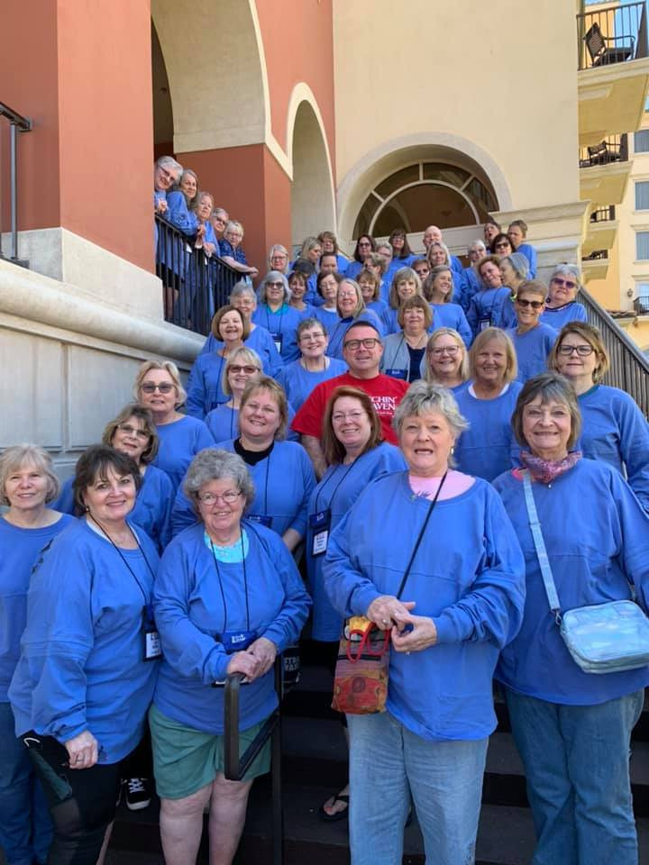 camaraderie with other quilters