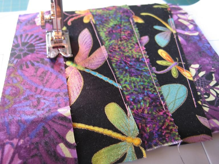 fabric on a sewing machine - difference between quilting and sewing