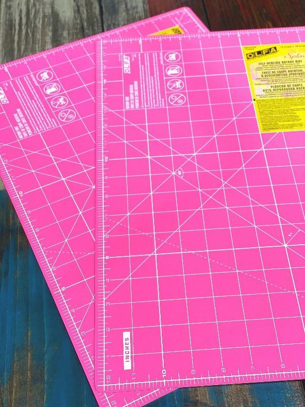 cutting mat care