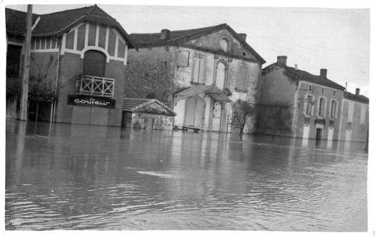 Inondation vue av Henri IV