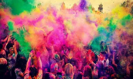 Festival and colours