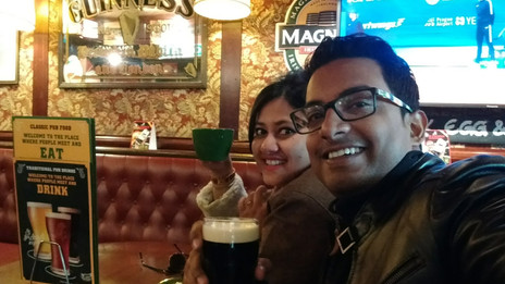 Guinness and more, a restaurant review