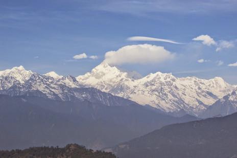 The Mythical Horizon-Kanchenjunga