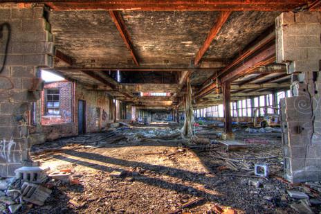 The abandoned warehouse