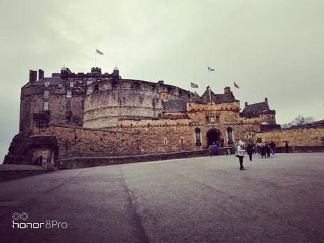Shades of Grey and Brown-Edinburgh