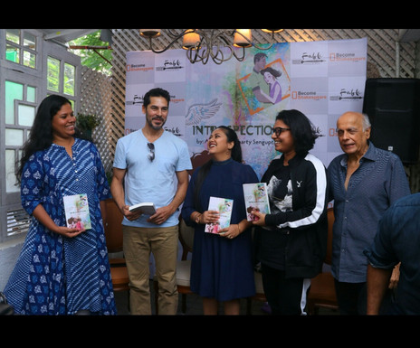"""A dream launch of my first novel """"INTROSPECTION"""""""
