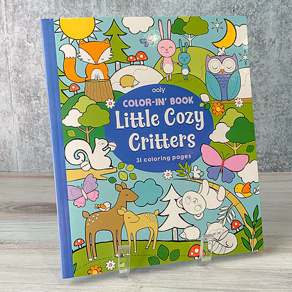Little Cozy Critters Color-in' Book