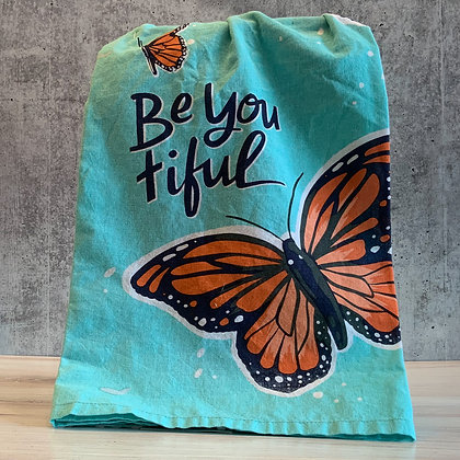 Be You Tiful Dish Towel