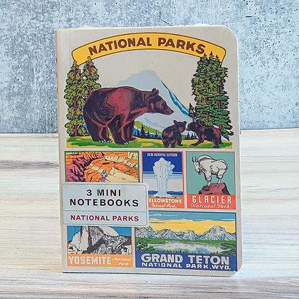 National Parks Mini Notebooks