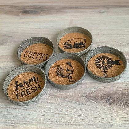 Mason Jar Lid Coaster