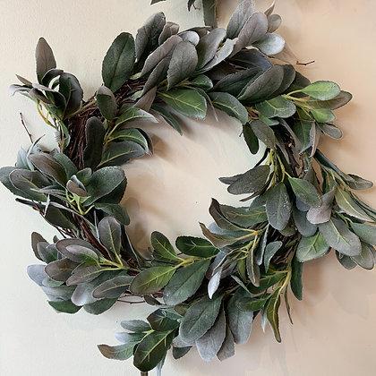 Lamb's Ear Wreath