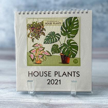 House Plants Desk Calendar - 2021