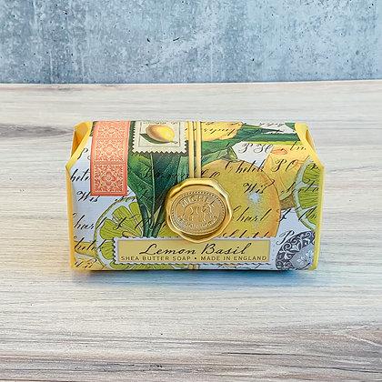 Lemon Basil Large Bar Soap