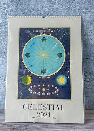 Celestial Wall Calendar - 2021