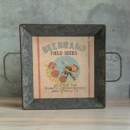 Metal Tray - Bee Brand
