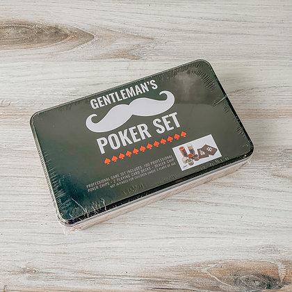 Gentleman's Poker Set