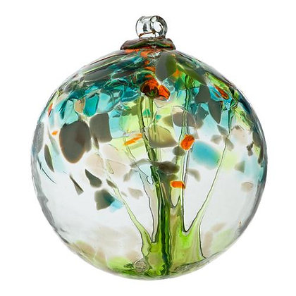 Re-Birth Tree of Enchantment Glass Ornament