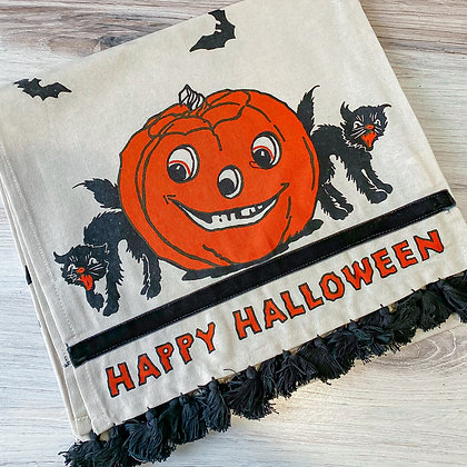 Happy Halloween Table Runner