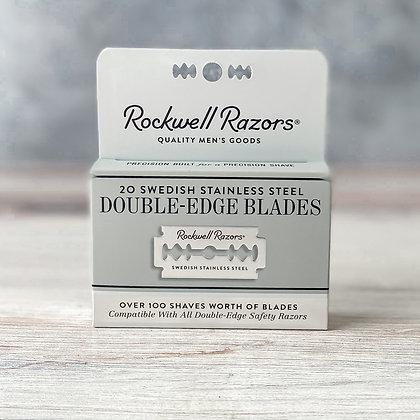 Double-Edge Razor Blades - 20ct