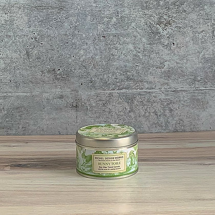 Bunny Toile Travel Candle