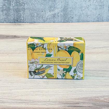 Lemon Basil Boxed Soap