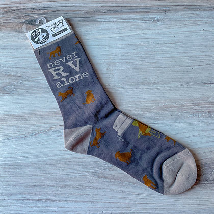 Never RV Alone Socks