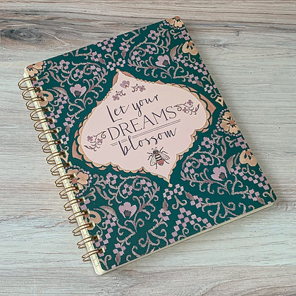 Spiral Notebook - Let Your Dreams Blossom