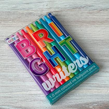 Bright Writers Ballpoint Pens