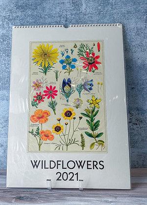 Wildflowers Wall Calendar - 2021