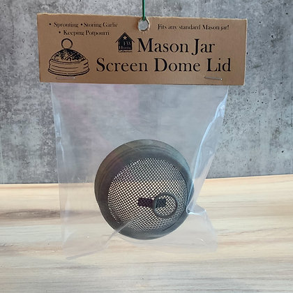 Mason Jar Screen Dome Lid