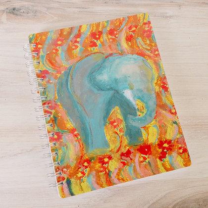 Spiral Notebook - Elephant
