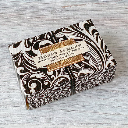 Honey Almond Boxed Soap