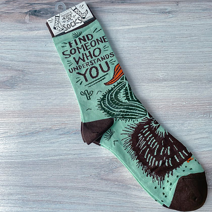 """Socks - """"Find Someone Who Understands You"""""""