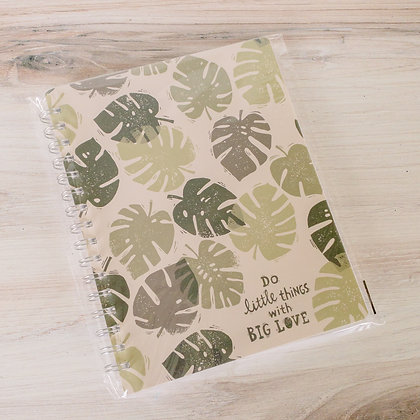 Spiral Notebook - Do Little Things With Big Love