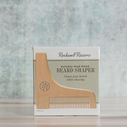 Natural Pear Wood Beard Shaper