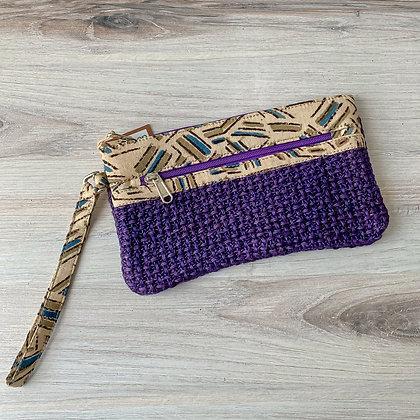 Violet Leyla Wristlet - Net Weave
