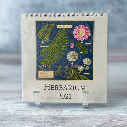 Herbarium Desk Calendar - 2021
