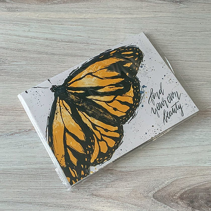 Sticky Notes - Monarch Butterflies