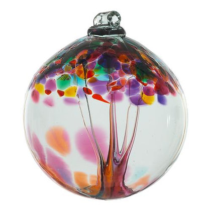 """Gratitude"" Tree of Enchantment Glass Ornament"
